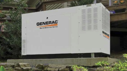 Generac generator installed in Iron Station NC by Tri-City Electric.